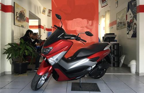 yamaha nmax 160 vermelha 2017