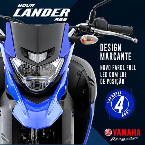yamaha - nova lander 250 abs - 2020 - sem entrada