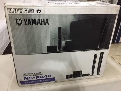 yamaha nspa-40 kit 5.1 home(urgente só até 30/06)