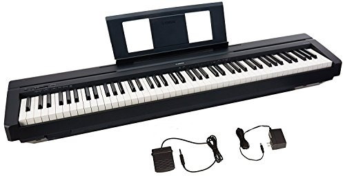 yamaha p45 88-key weighted action digital piano with sustain