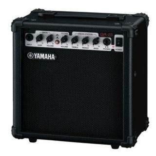 yamaha paquete de guitarra amplificador y accesorios erg121