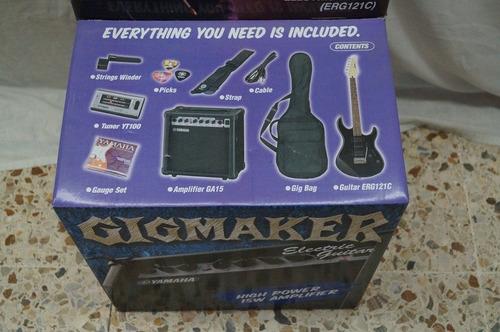 yamaha paquete guitarra gigmaker (todo incluido) erg121gpii
