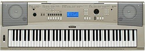 yamaha piano portátil ypg-235 76 teclas
