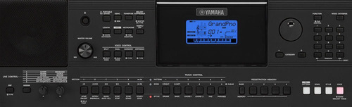 yamaha psr-e453  teclado portatil + accesorios