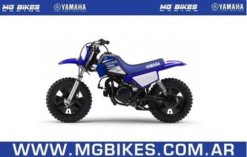 yamaha pw 50 azul 0km - única unidad disponible - mg bikes!