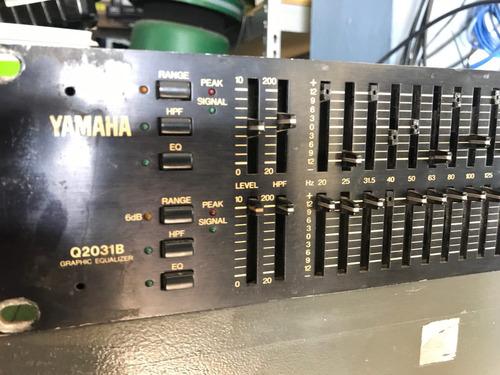 yamaha q2031b equalizador gráfico con detalle winners