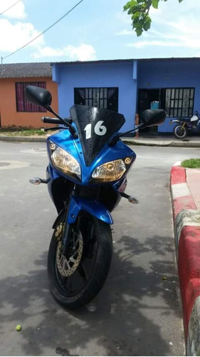 yamaha r 15, 2012, azul.