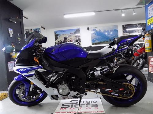 yamaha r1 azul 2016
