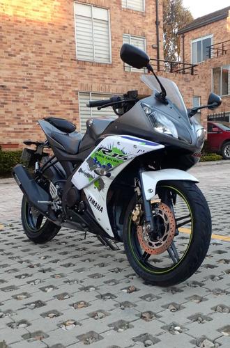 yamaha r15, modelo 2018