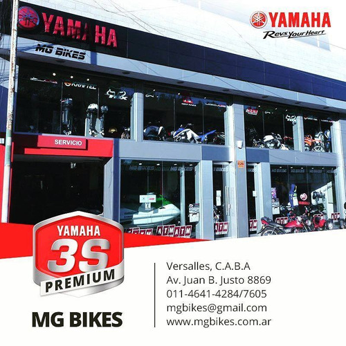 yamaha r3 2017 0km blanca - mg bikes!