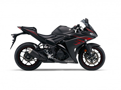 yamaha r3 2018 color negro 1200km normotos