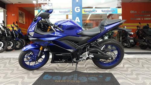 yamaha r3 321cc abs 0km 2020 garantia de fábrica todas cores
