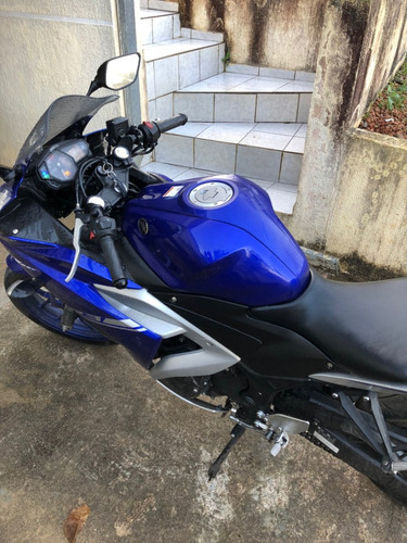 yamaha r3 azul curitiba