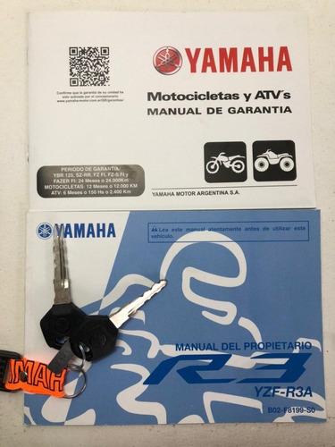 yamaha r3 - nueva