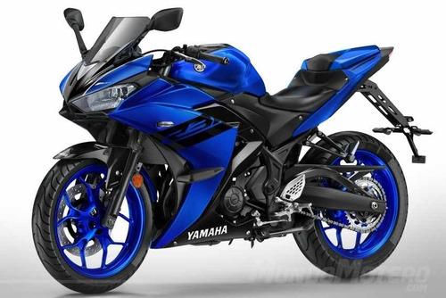 yamaha r3 yzf  nuevo color azul ! ciclofox yzfr3 !!