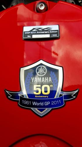 yamaha r6 2012 50 aniversario con 10800 km