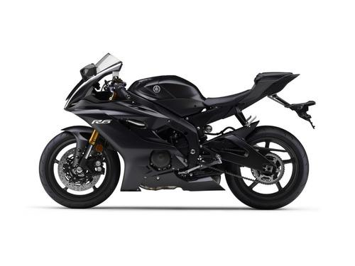yamaha r6  2017 okm  color negro ... en motolandia!!