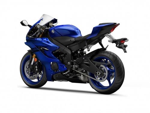 yamaha r6 2018 0km azul - mg bikes!
