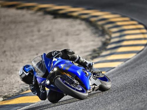 yamaha r6 2018 ... en motolandia!!!