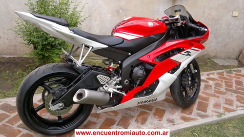 yamaha r6 mod 2009 impecable,con 4000km reales   marziali