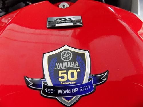 yamaha r6r blanca 2012 edición especial 50 años