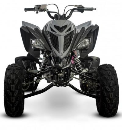 yamaha raptor 700 cuatriciclo color gris ++ palermo bikes