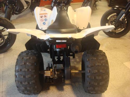 yamaha raptor 90 impecable automatico 2010 patentado