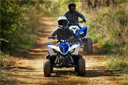 yamaha raptor yfm 90 cuatriciclo 0km 2018 ++ palermo bikes