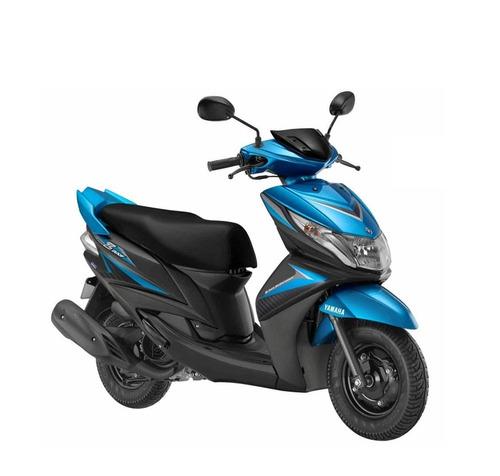 yamaha ray zr - 0 km - cyan / negro - scooter - expomoto