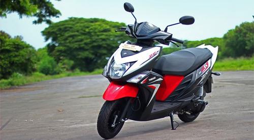 yamaha ray zr 113 scooter/ motomel zanella # palermo bikes