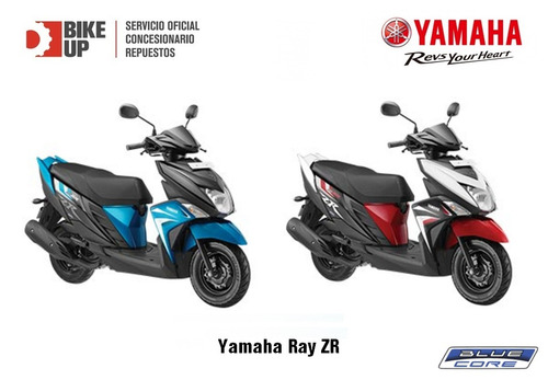 yamaha ray zr - empadrona gratis - tomamos tu moto - bike up