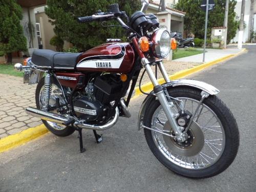 yamaha rd 350 viúva negra 1974 moto de colecionador
