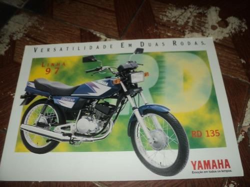 yamaha rd135 1997  f.concessionaria