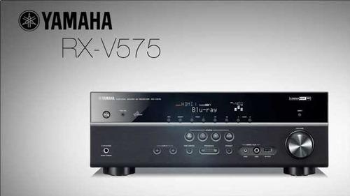 yamaha  rx-v575 7.2 canales 560 watts airplay video 4k 3d