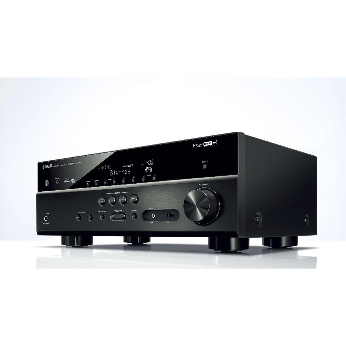 yamaha rx v577 7 2 channel wi fi network av receiver. Black Bedroom Furniture Sets. Home Design Ideas