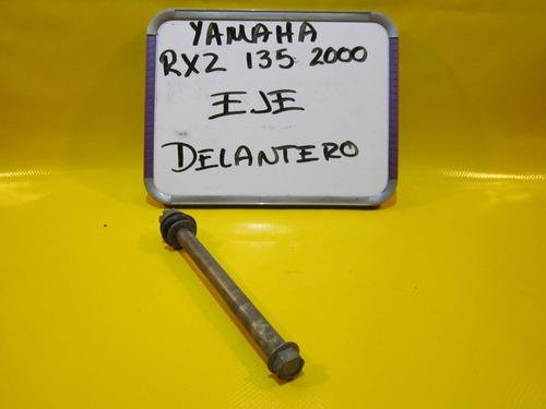 yamaha rxz 135 2000 eje delantero
