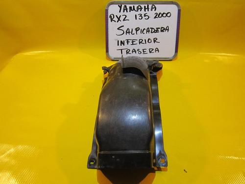 yamaha rxz 135 2000 salpicadera inferior trasera