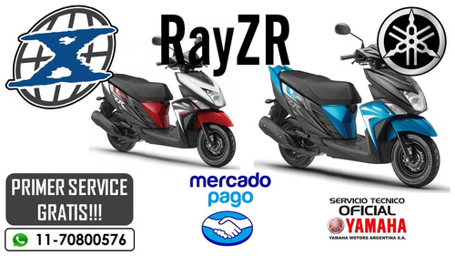 yamaha scoote rayzr  x-treme racing