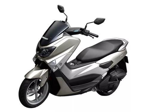 yamaha scooter nmax 125 - roja - expomoto sa 2017