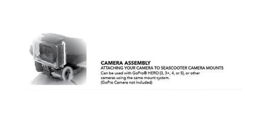 yamaha seascooters con soporte para cámara rds200 buceo