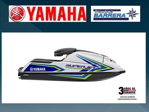 yamaha super jet  2018 entrega inmediata c-garantia