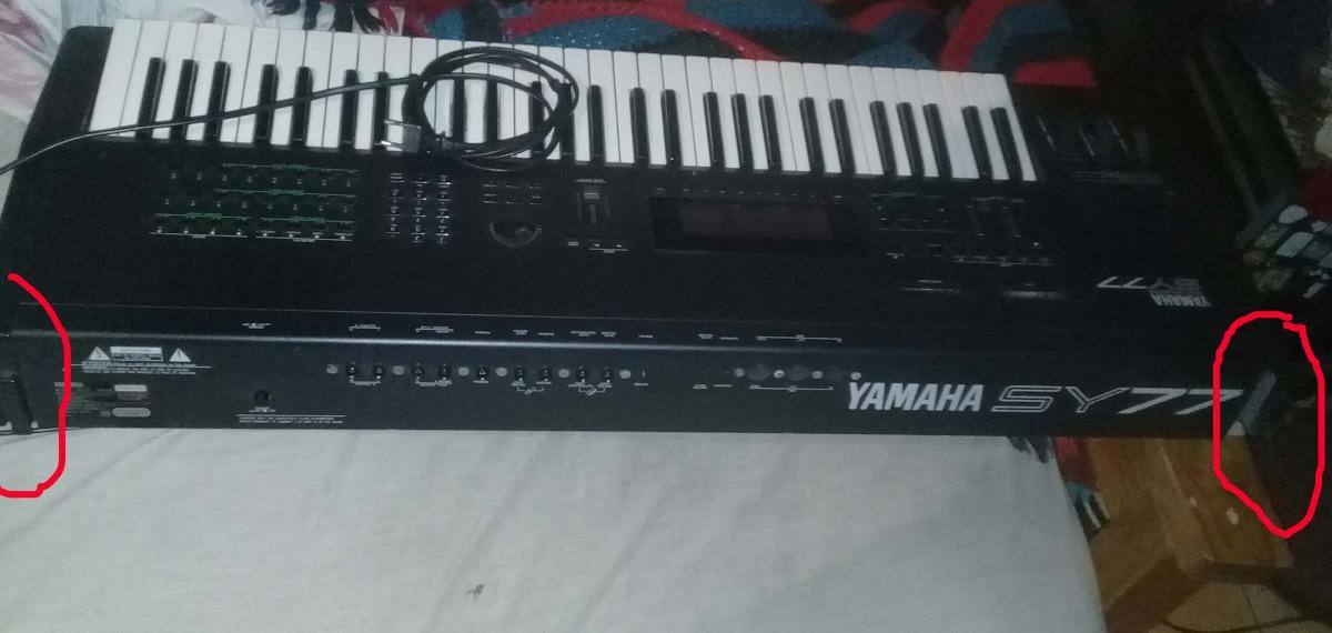 Yamaha Sy77 Funcionando Con Faltantes Leer Bien - $ 15 000,00