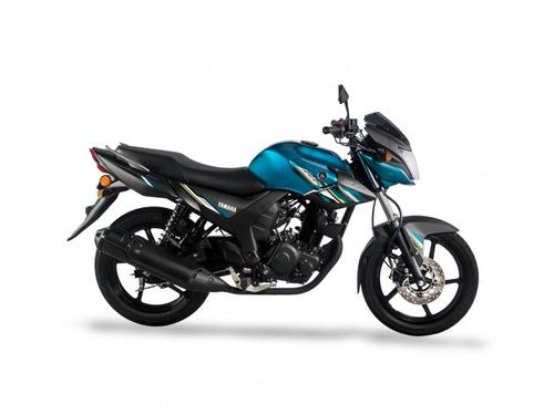 yamaha sz 150 blue core 18 cuotas $6320 oeste motos