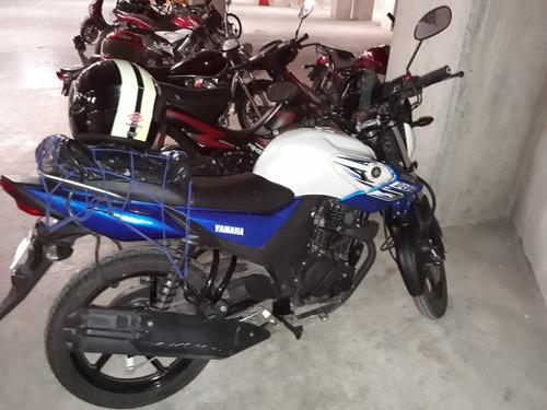 yamaha sz-r azul y blanco 2016