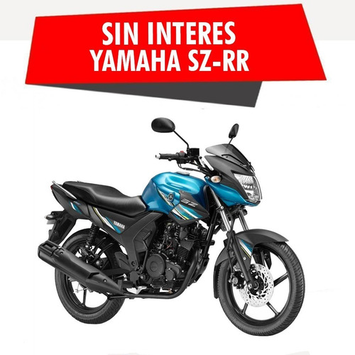 yamaha sz rr 150  okm ybr 125  igual motor fz fi ahora 12/18