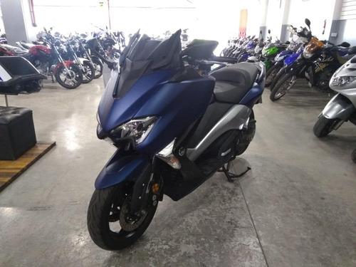 yamaha t-max 535 azul 2017 28.200km impecable - mg bikes!