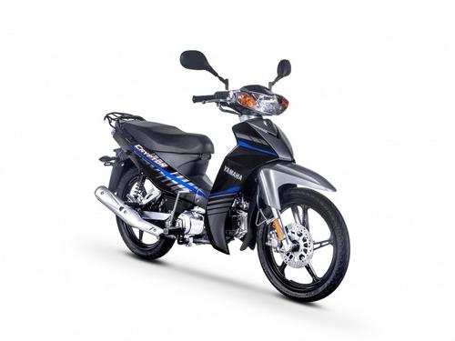 yamaha t110 crypton 2019 negro/azul