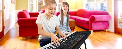 yamaha teclado psr e263 paquete estudiante kit y audifonos
