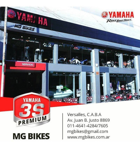 yamaha tenere 250 0km v- única unidad disponible - mg bikes!