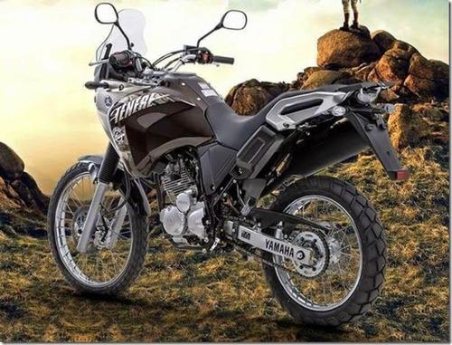 yamaha tenere 250 marrón 3 años garantía performance bikes
